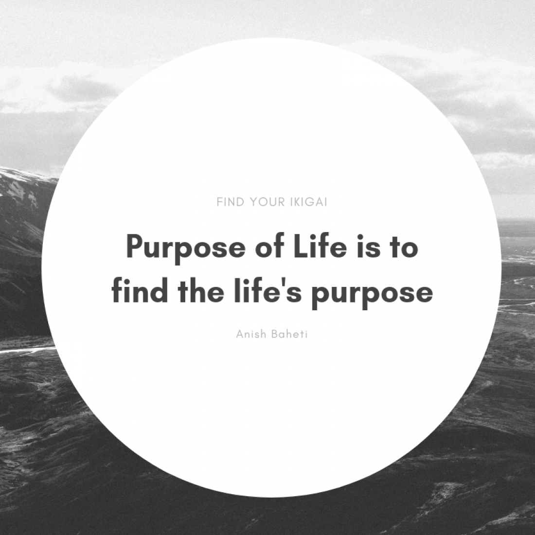 Discover your Purpose  Live your Life  Find your Ikigai
