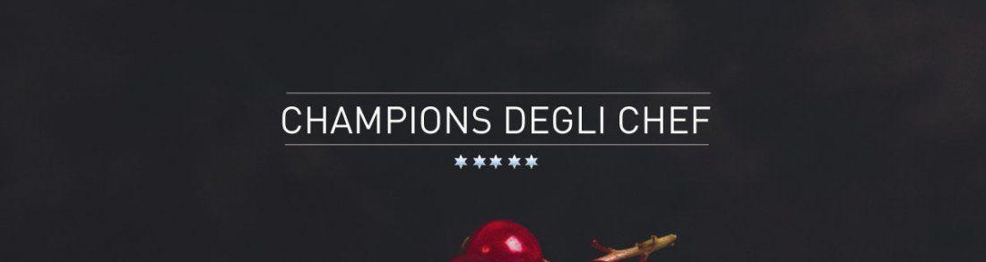 La Champions degli Chef di Stefano Tacconi