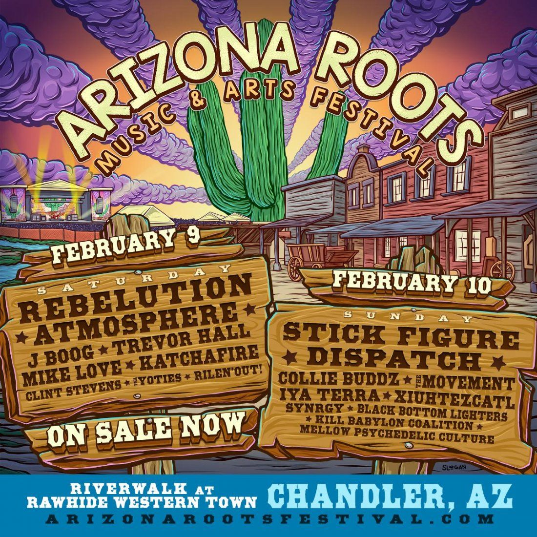 The Inaugural Arizona Roots Music & Arts Festival