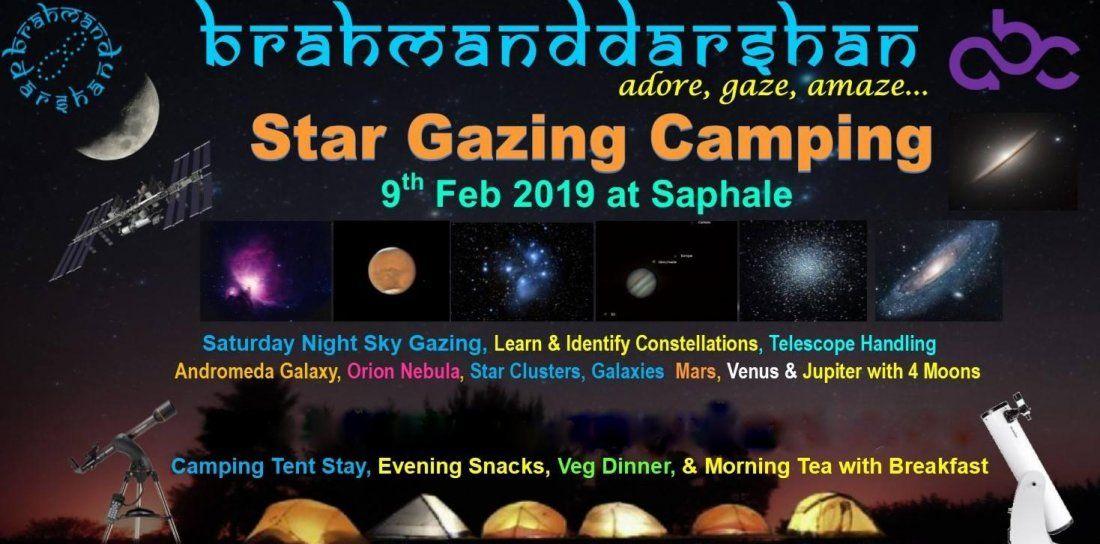 NIGHT SKY STARGAZING & CAMPING