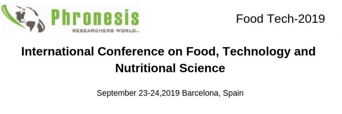 International Conference on Food Technology and Nutritional Science