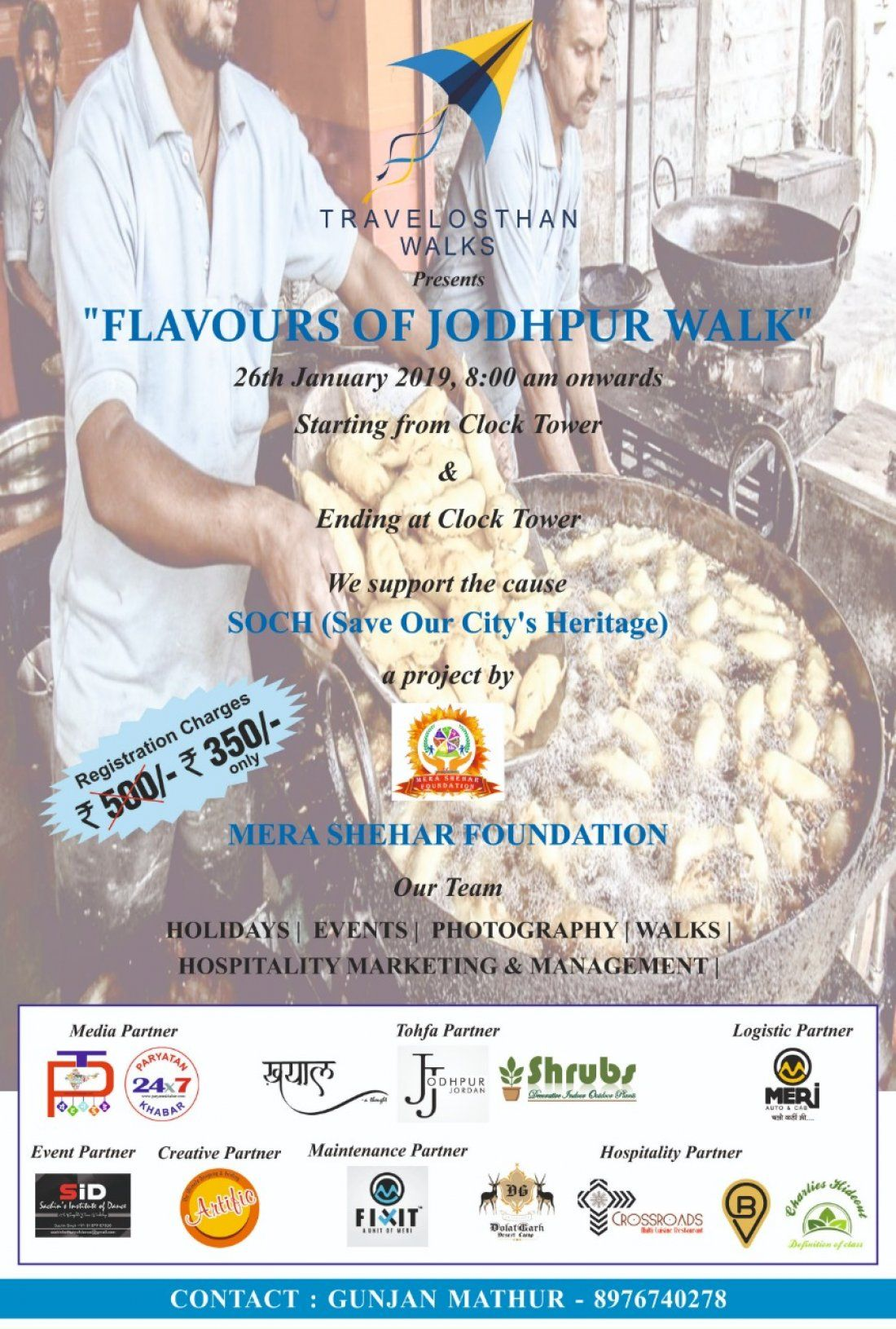 Flavours of Jodhpur - A Walk with a Twist