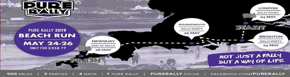 dafffb9dd Pure Rally beach run 2019. Time Fri May 24 ...