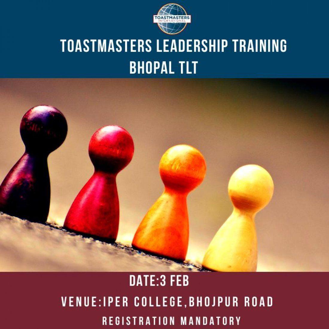 Toastmasters Leadership Training