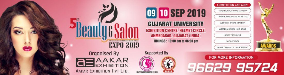 Beauty & Salon Expo 2019 at Ahmedabad (Tickets Available)
