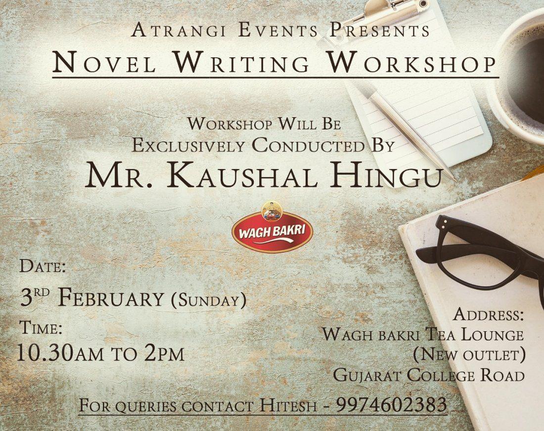 Novel Writing Workshop - ATRANGI