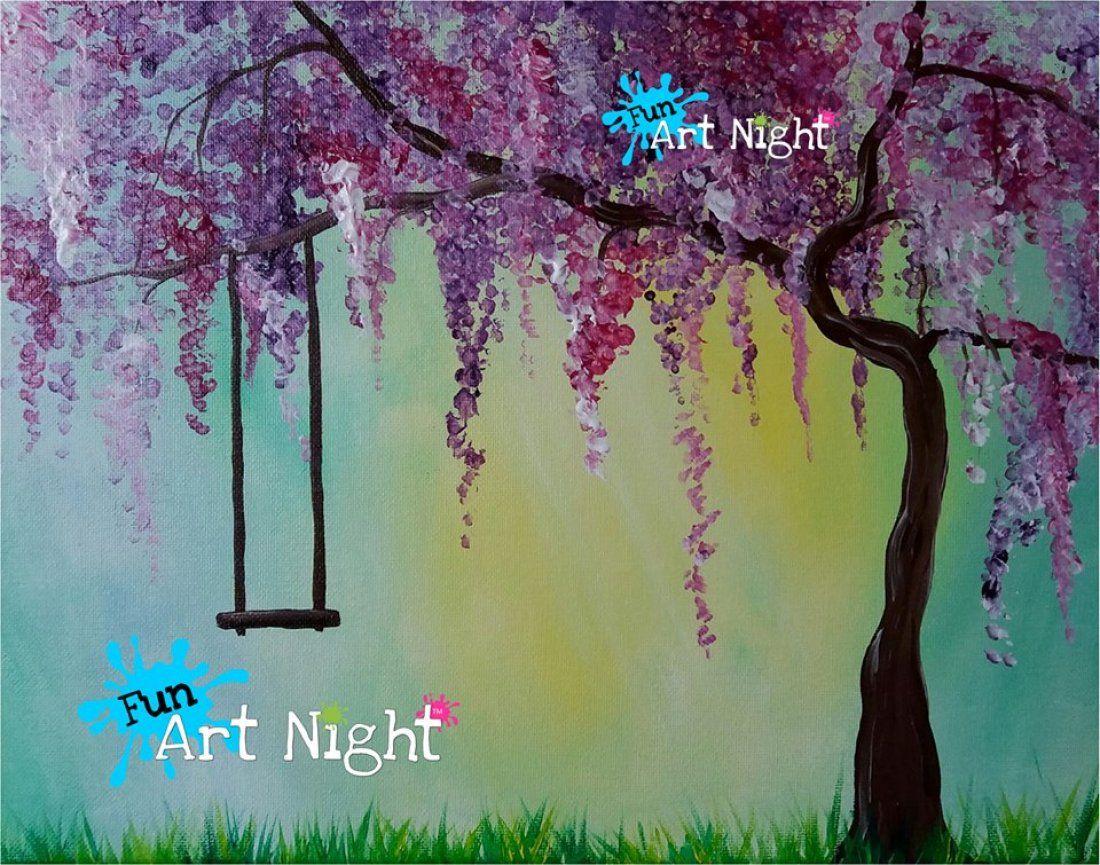 Kids Art Night Spring Swing in Waynesboro