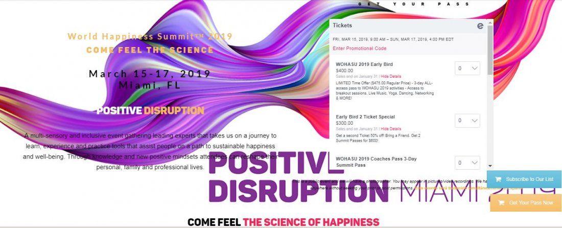 World Happiness Summit (WOHASU)