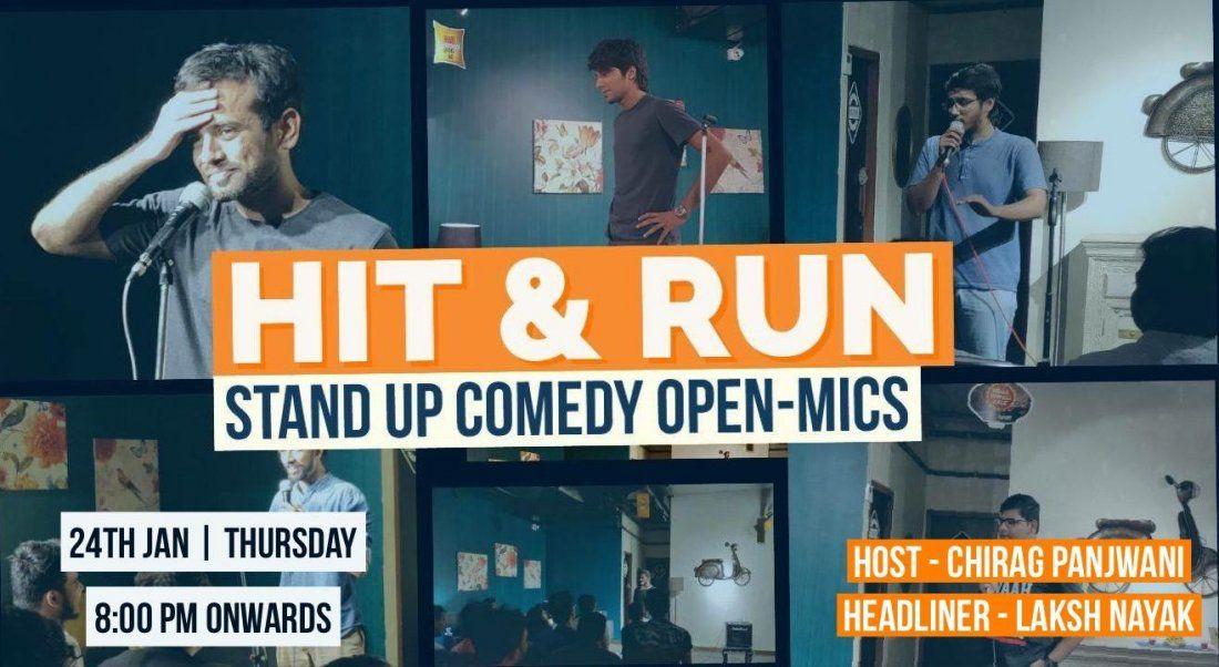 Hit & Run 32.0 - standup comedy open mic