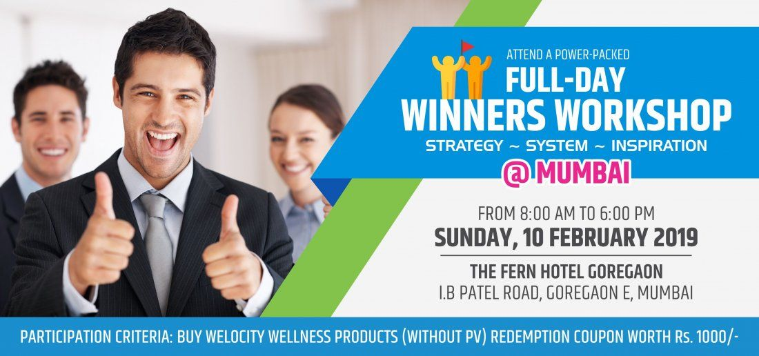 Welocity Winners Workshop  GOREGAON Mumbai