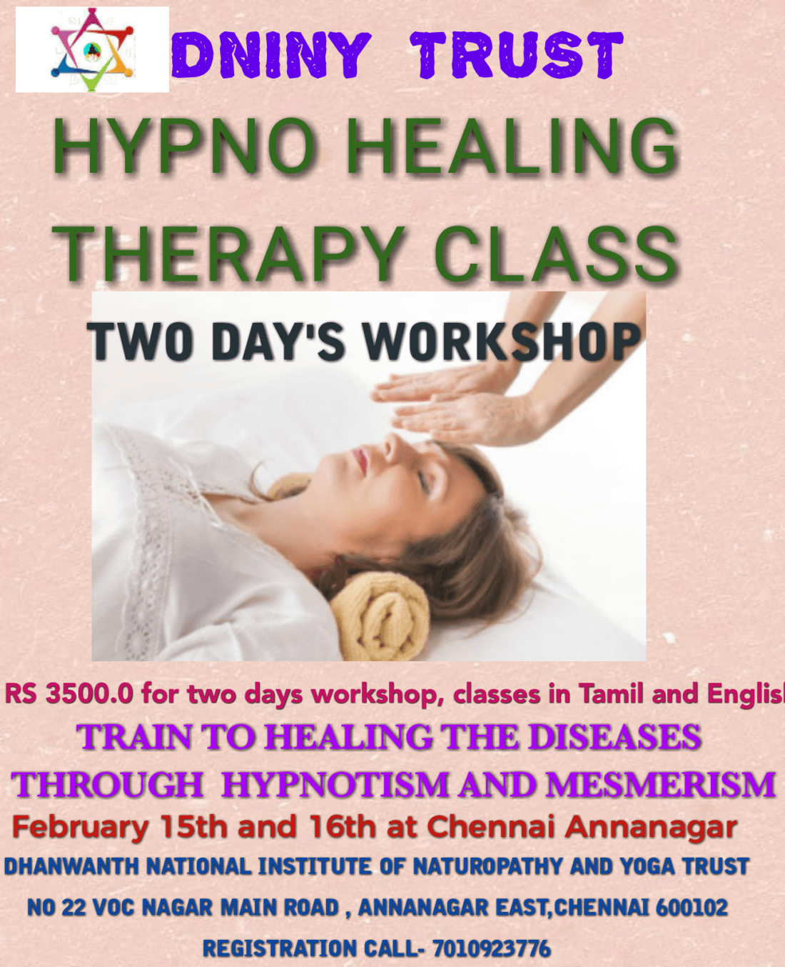 Hypno healing therapy
