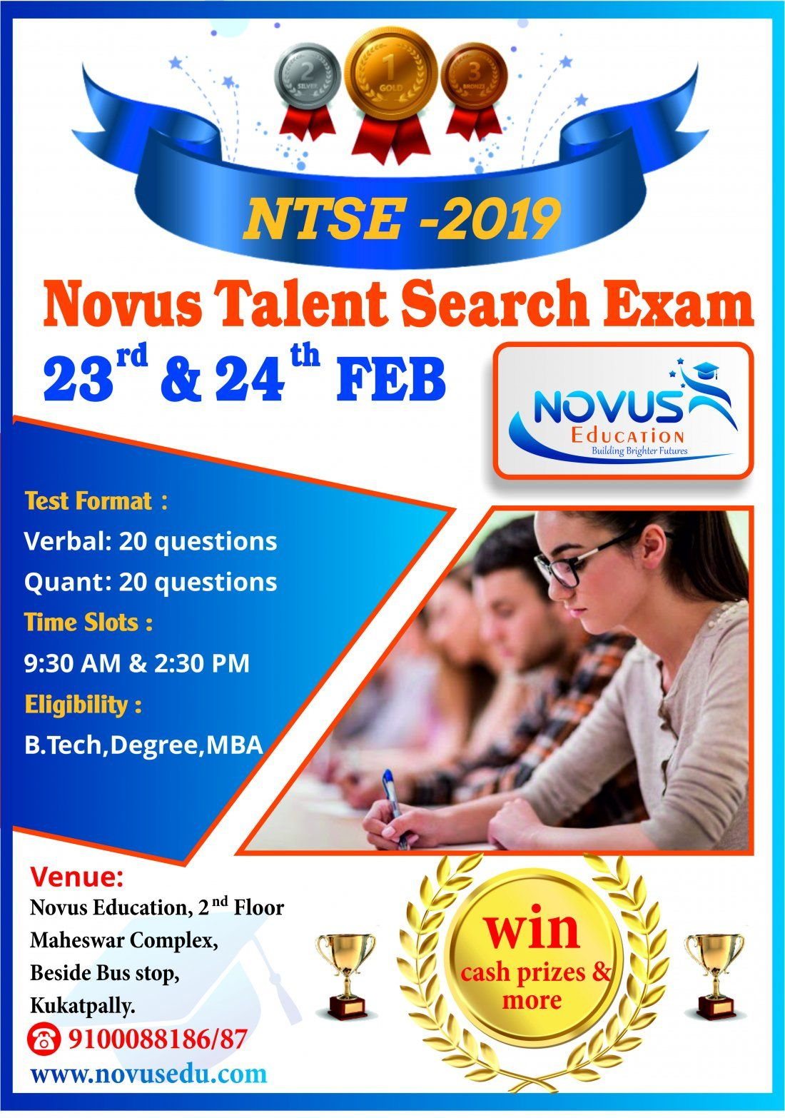 NTSE-2019(Novus Talent Search Exam)