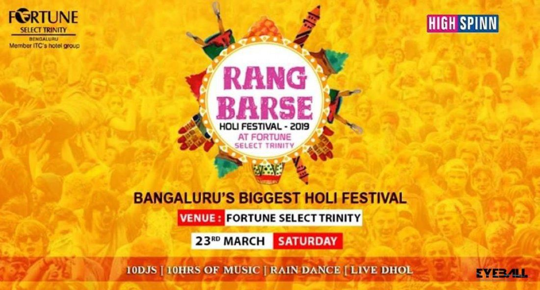 Rang Barse - Holi Festival 2019