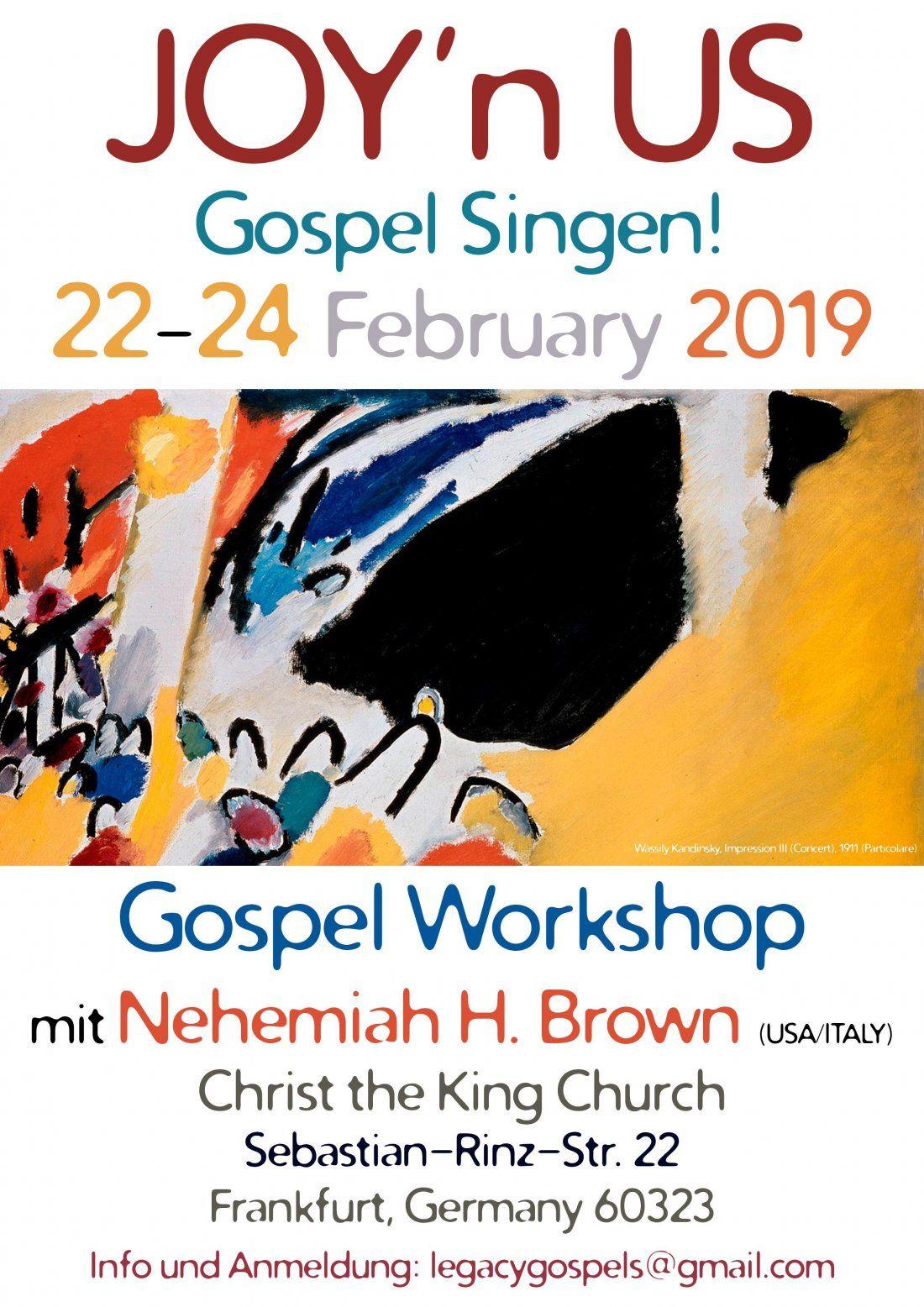 Gospel Music Workshop