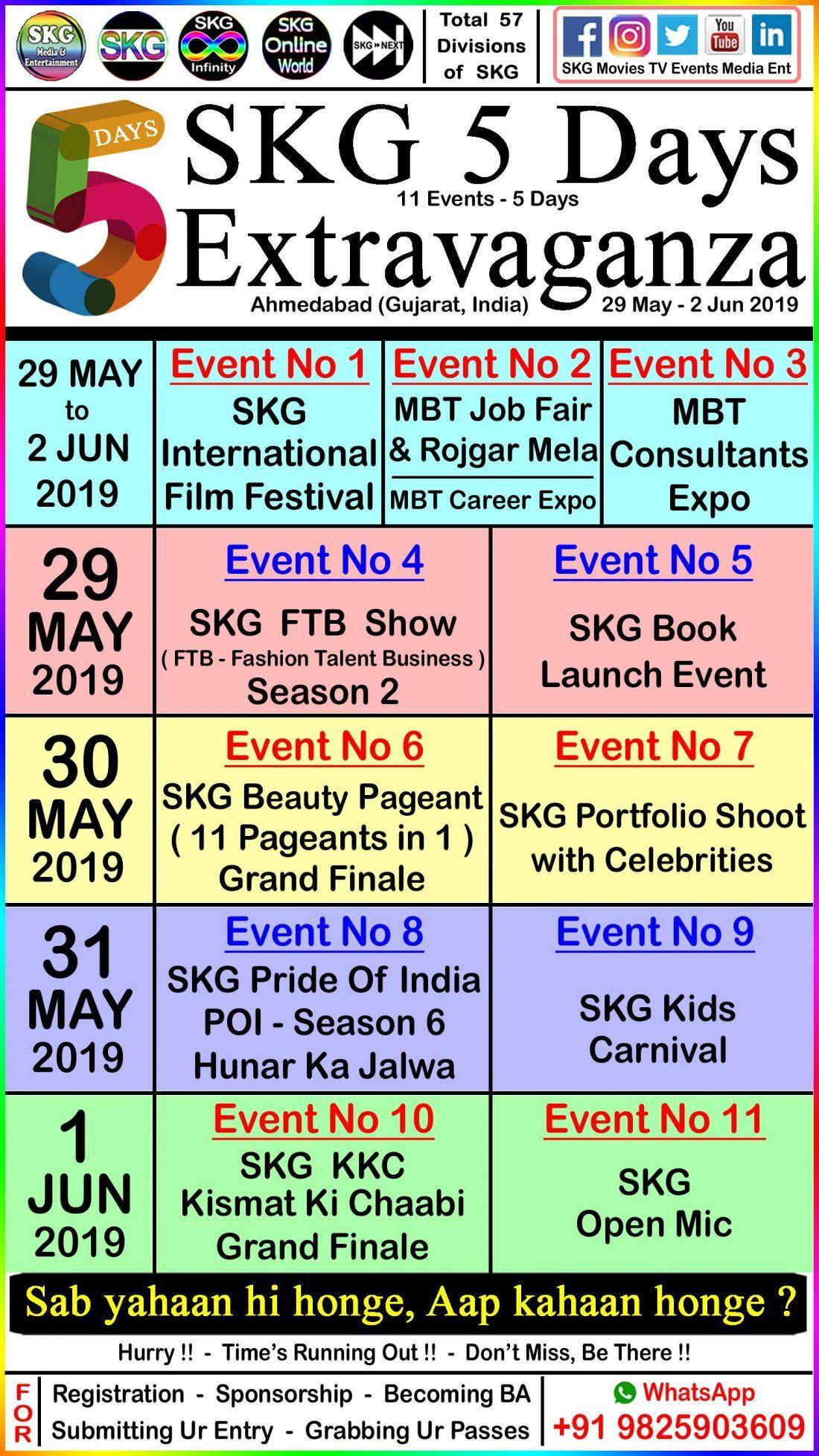 SKG 5 Days Extravaganza