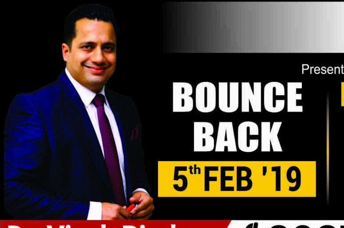 Bounce Back Pune by Dr. Vivek Bindra