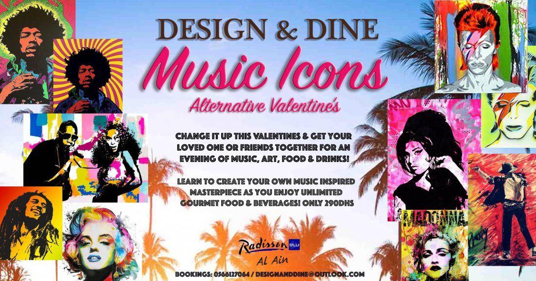 Design & Dine Al Ain - Alternative Valentines