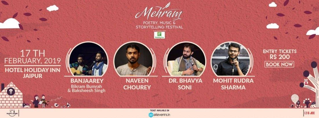 Mehram - Poetry and Storytelling Festival Jaipur