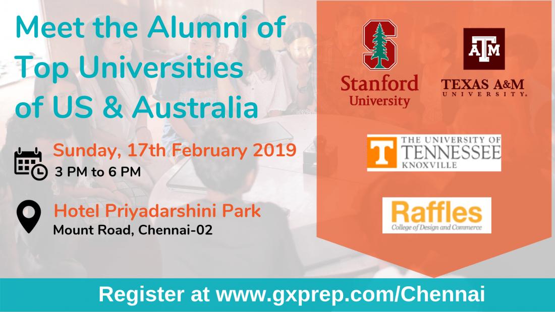 Meet Alumni From Top Universities in the U.S. & Australia