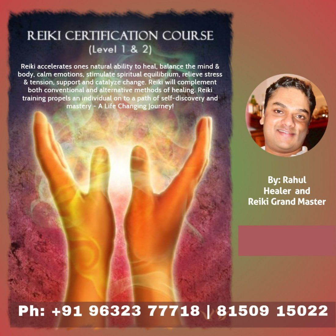 Reiki level 1&2 workshop