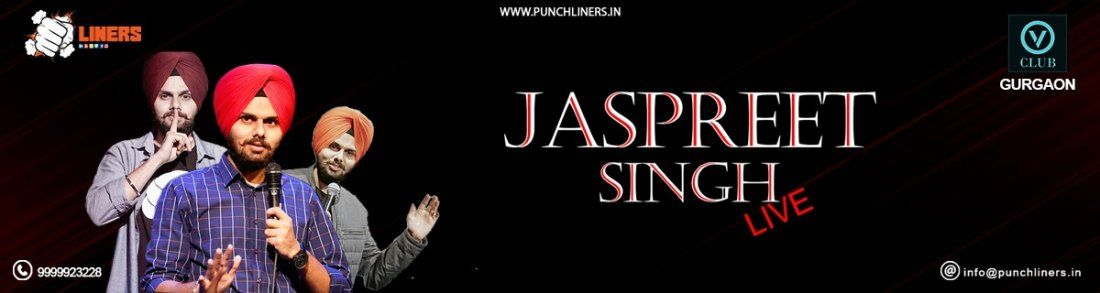 Punchliners Comedy Show ft Jaspreet Singh Live in Gurgaon