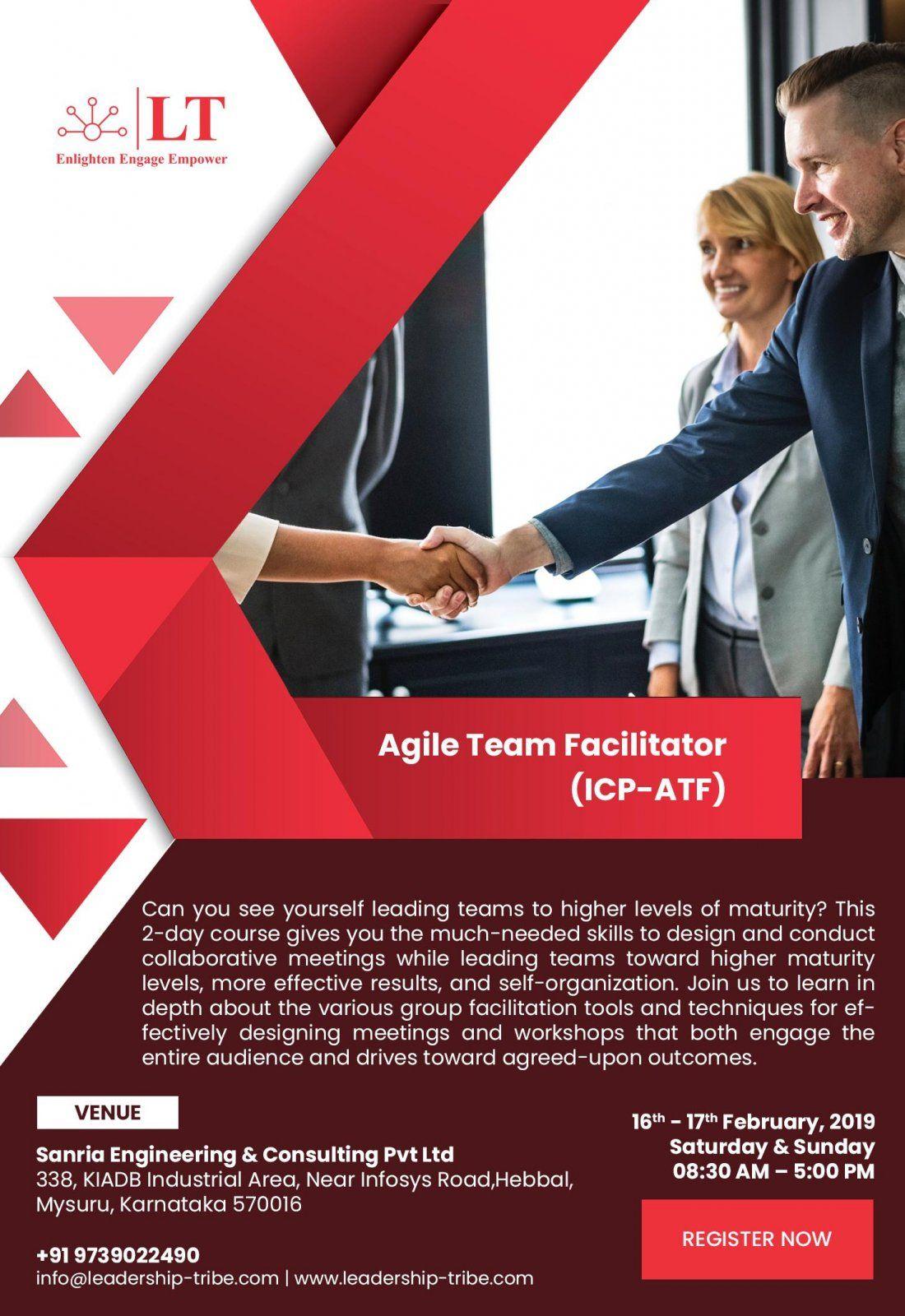 ICAgile Agile Team Facilitator course