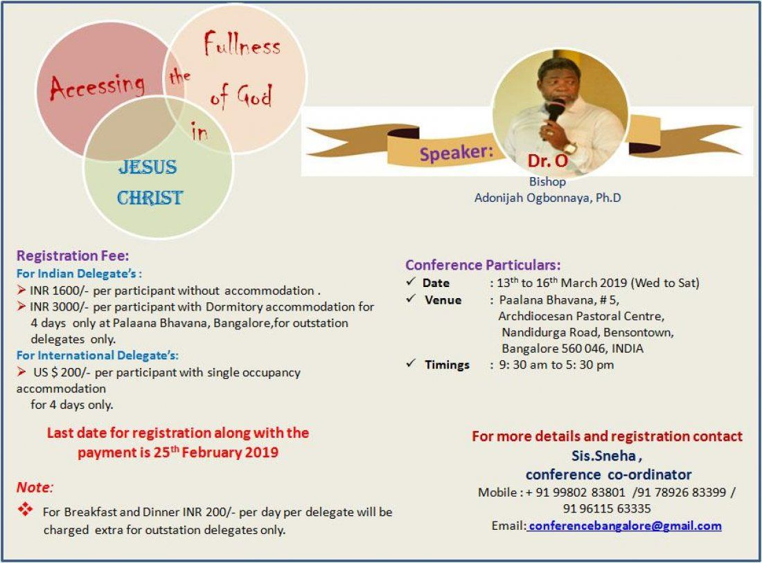 4 Days International Christian Conference