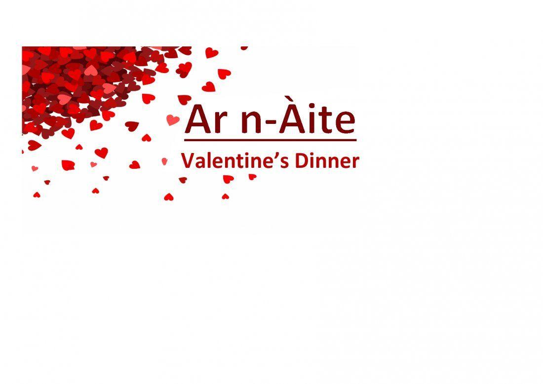 Valentines Dinner  Ar n-ite