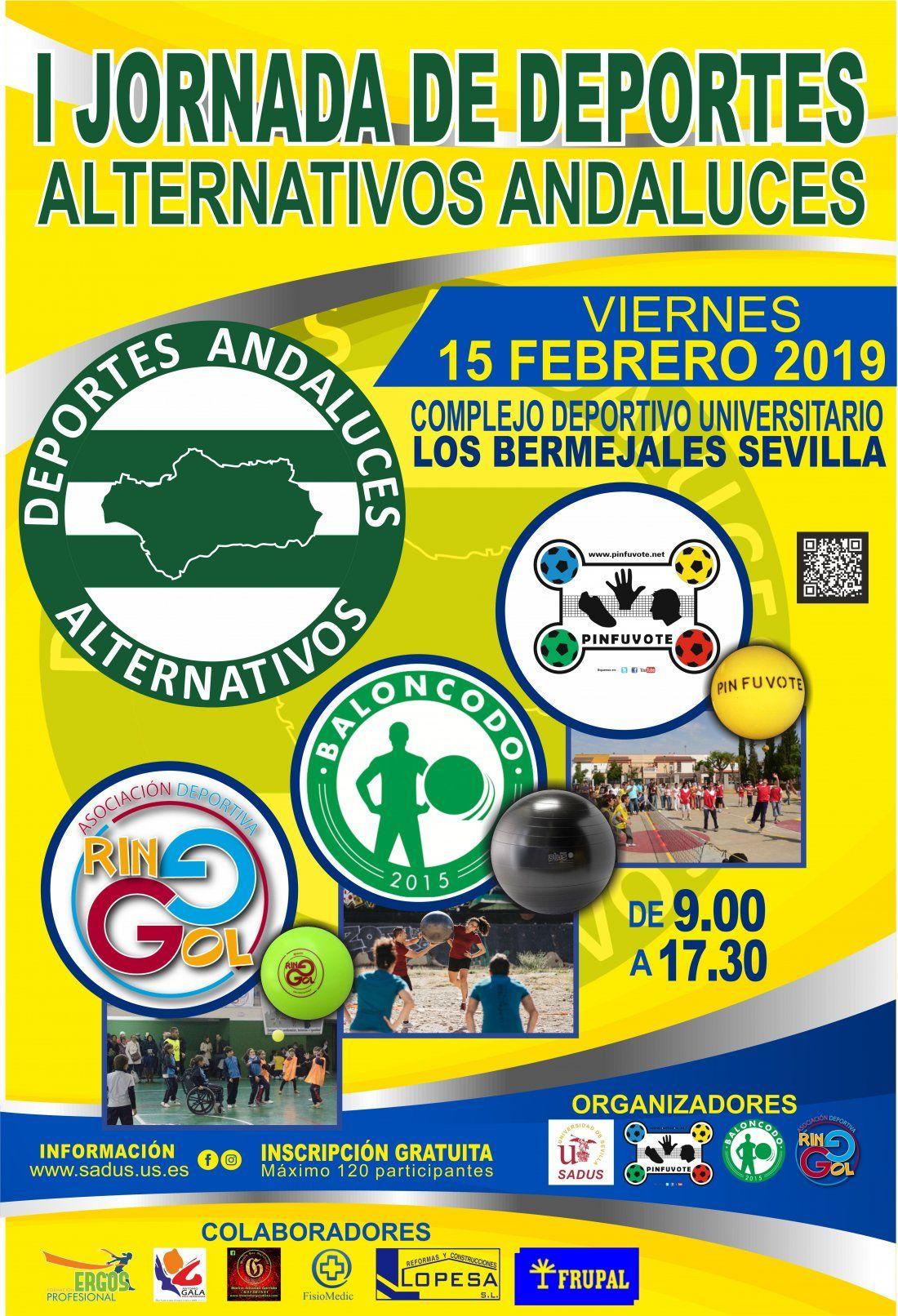 I Jornada de Deportes Alternativos Andaluces