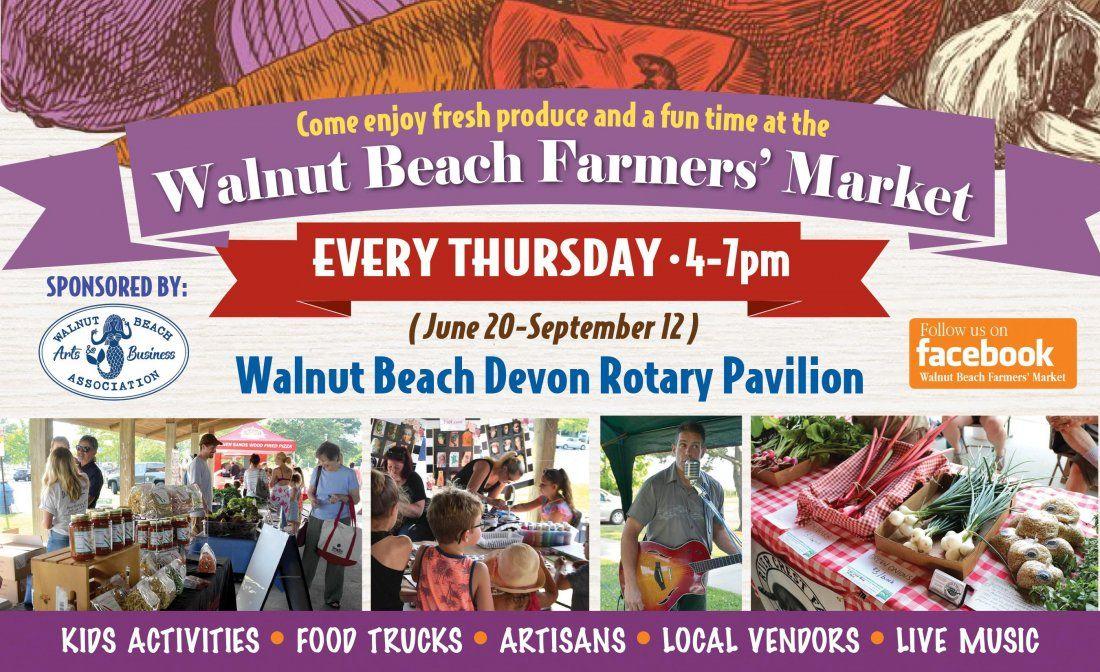 Walnut Beach Farmers Market