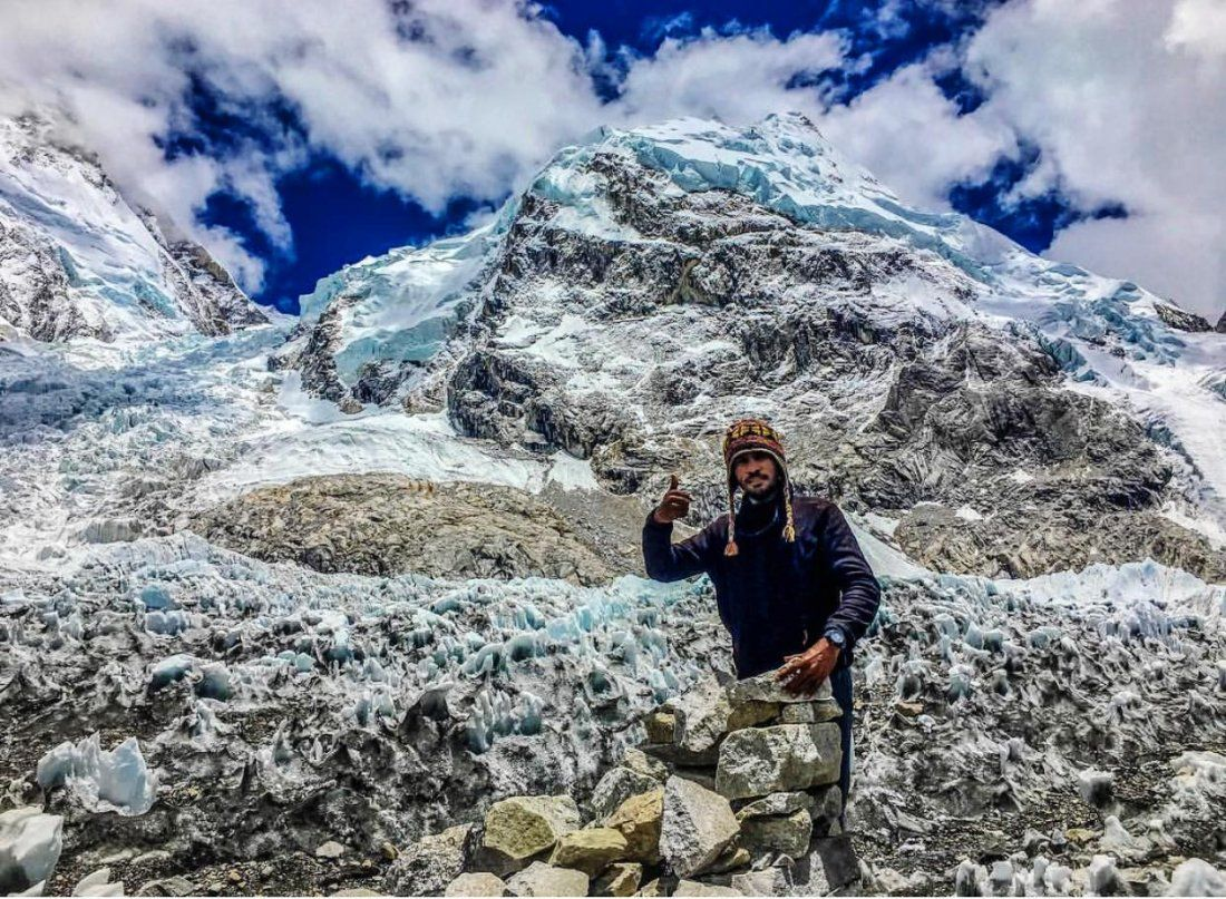 Everest Base Camp - Solo expedition