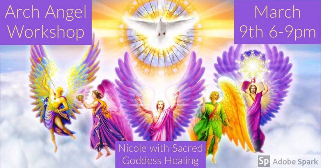 Attune to your Angels Arch Angel Workshop