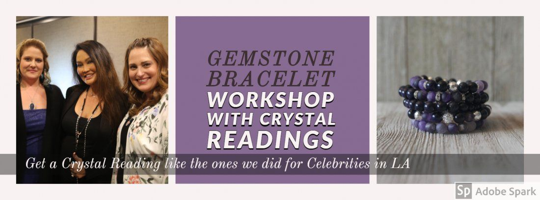 Gemstone Bracelet with Crystal Readings
