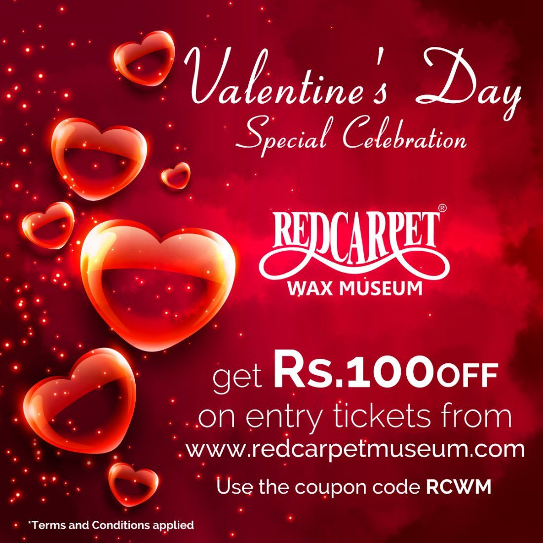 Valentines Day Special Celebration at Red Carpet Wax Museum Mumbai