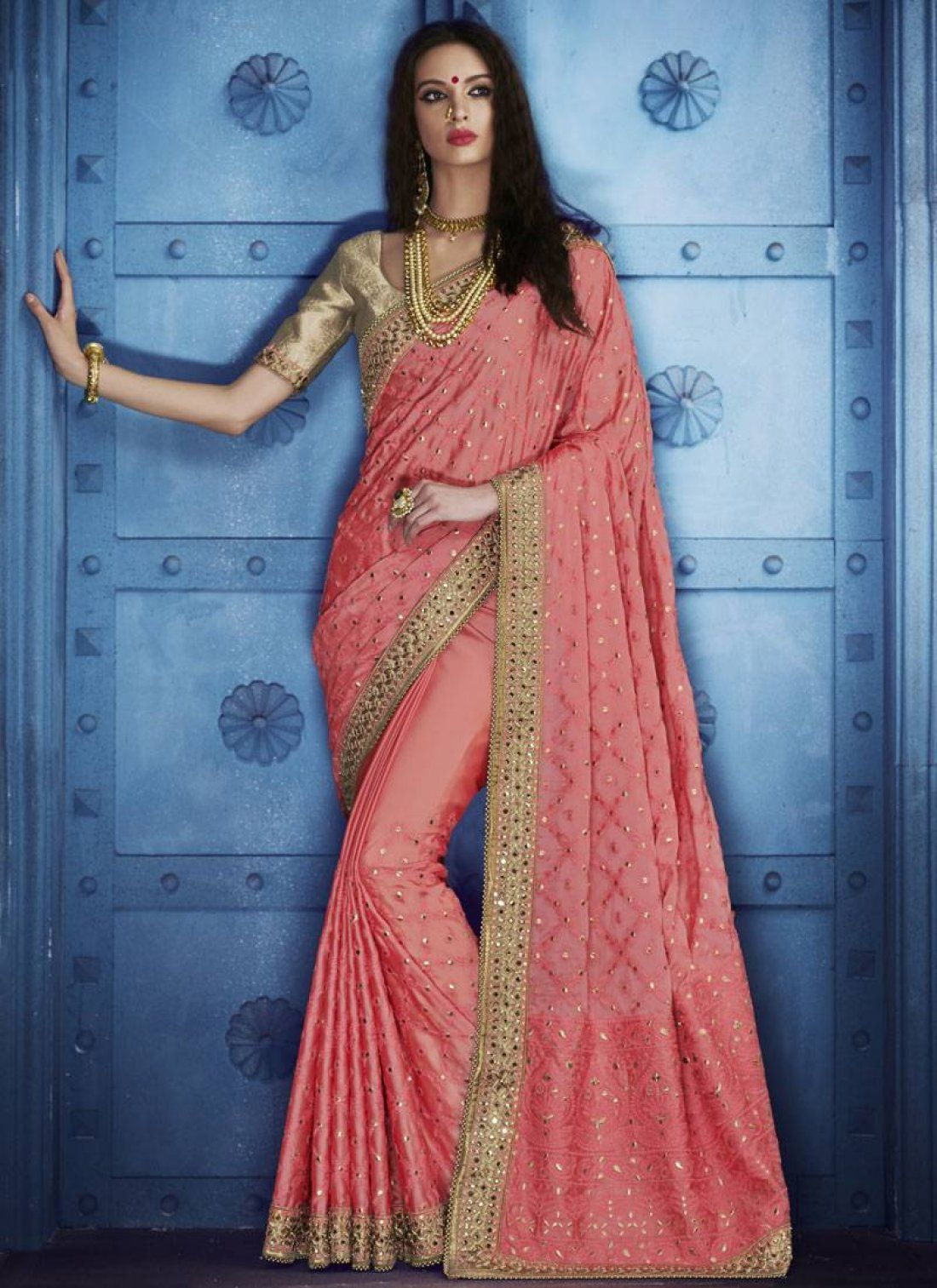 Indian designer sarees collection of 2019