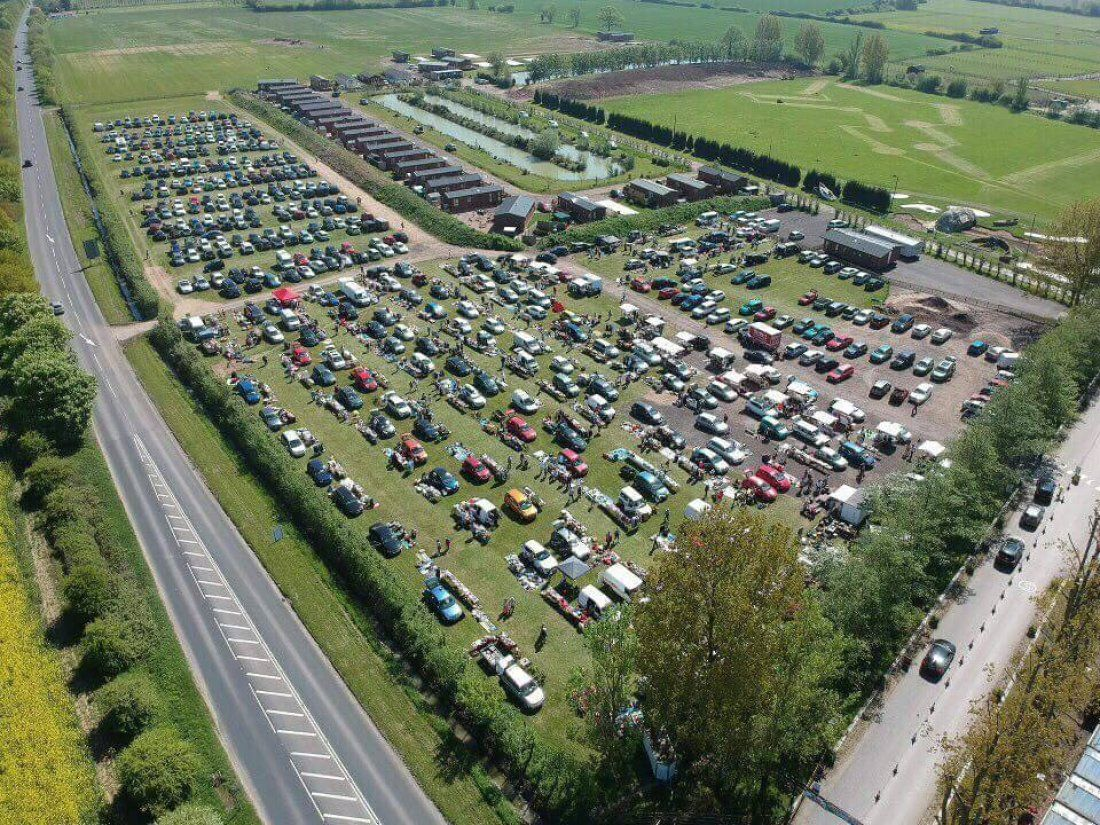 Stonham Barns Traditional Sunday Car Boot is back on 7th April 2019 from 8am carboot