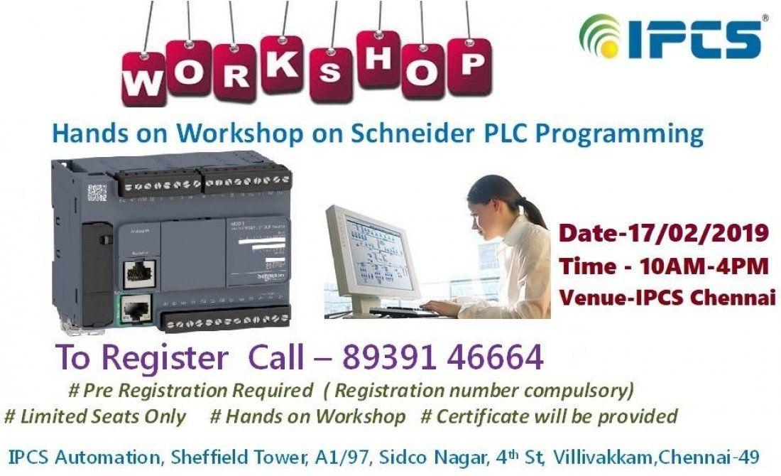 Workshop on SCHNEIDER PLC Programming