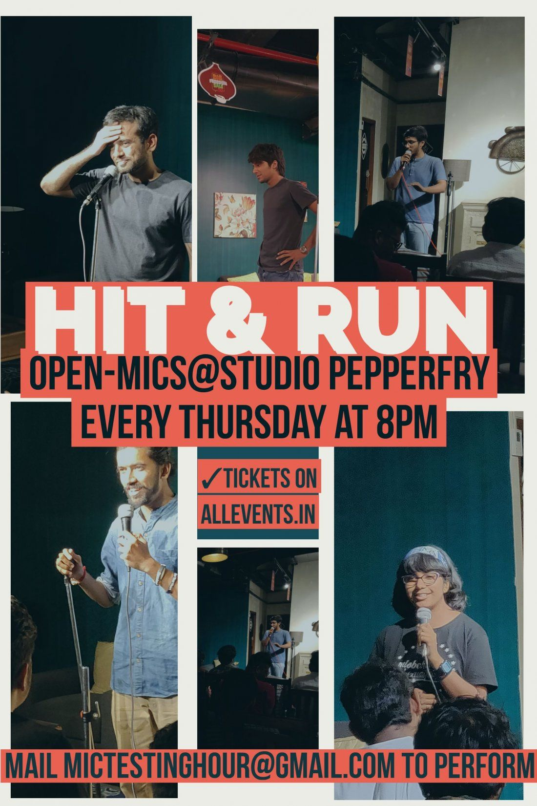 Hit and Run - Stand Up Comedy