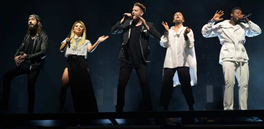 Pentatonix at Scotiabank Saddledome Calgary AB