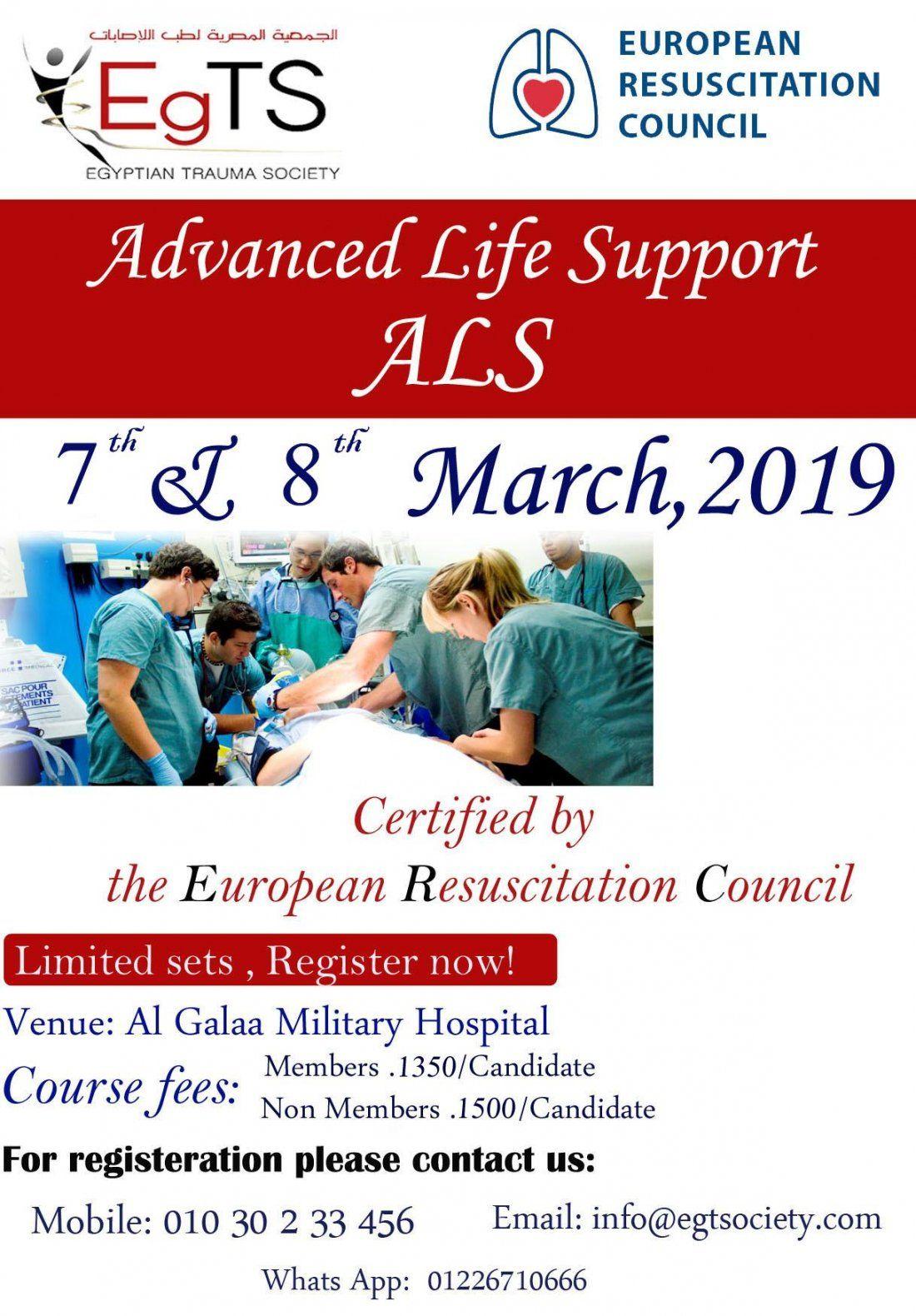 Advanced Life Support ( ALS )