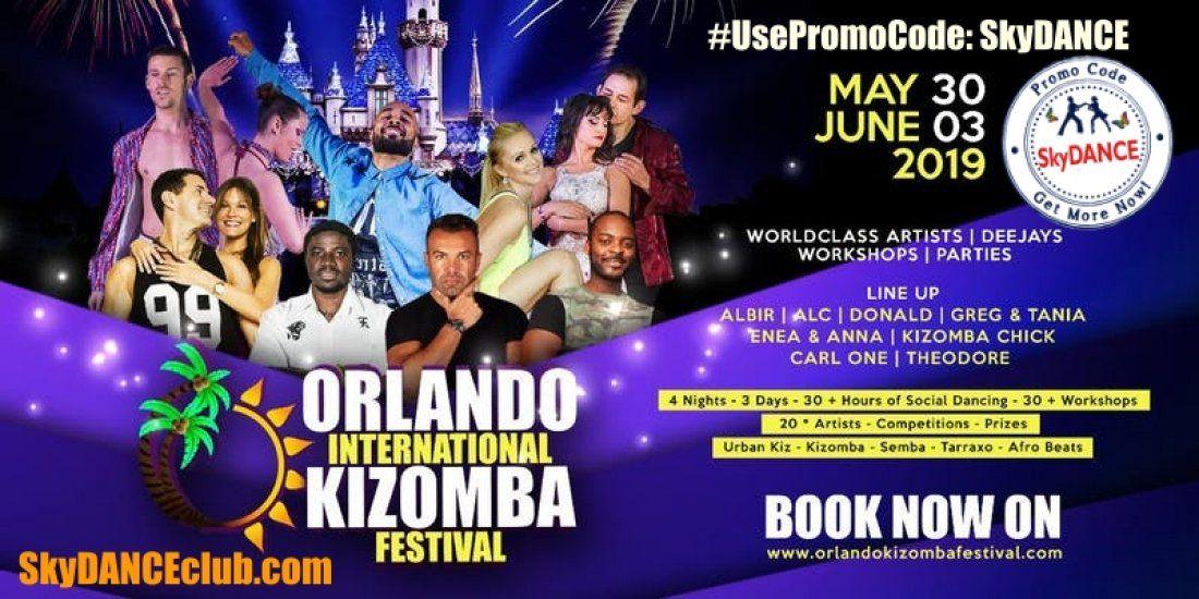 Promo Code SkyDANCE for OIKF - Orlando International Kizomba
