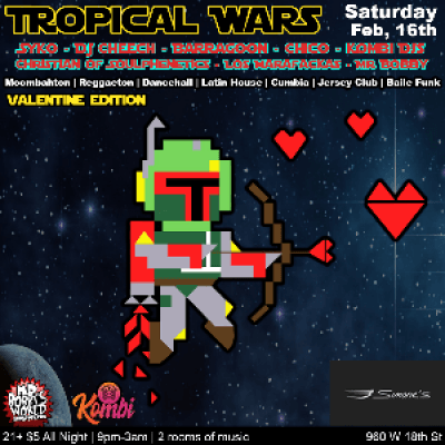 Tropical Wars (Valentines Day Edition)
