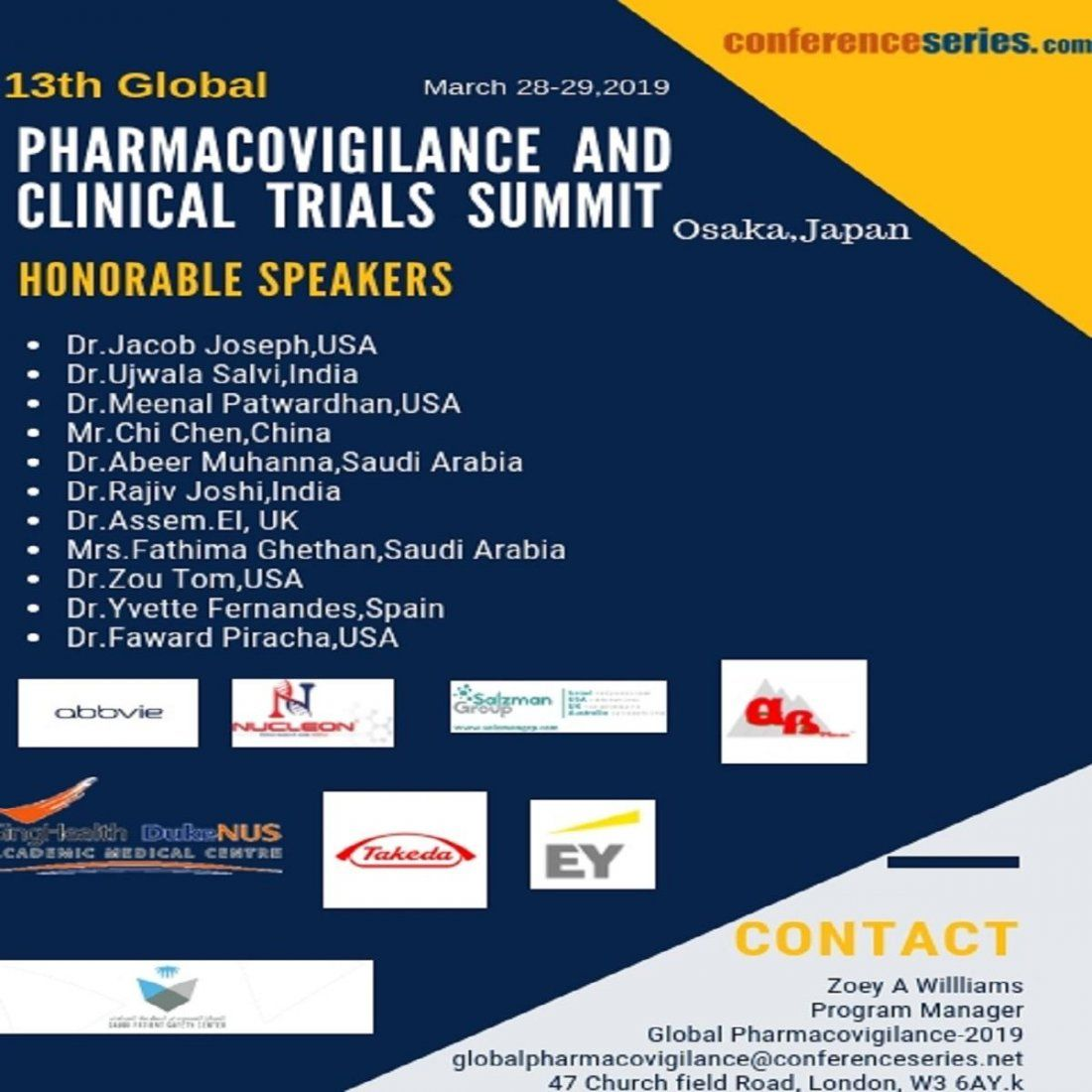 13th Global Pharmacovigilance & Clinical Trials