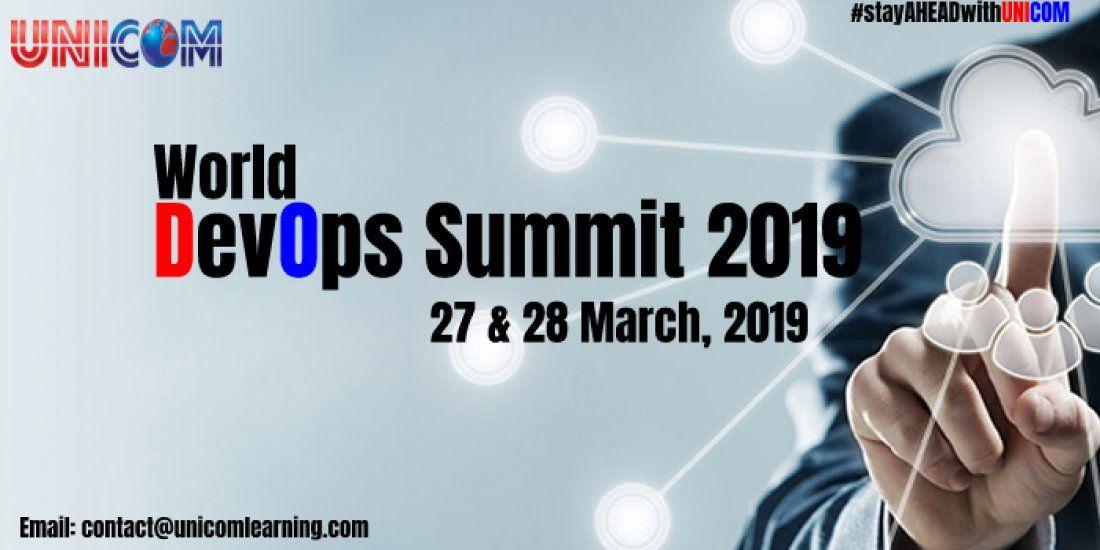 World Devops Summit 2019 - Bangalore
