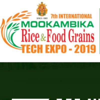 Mookambika Rice &amp Food Grains Tech Expo 2019