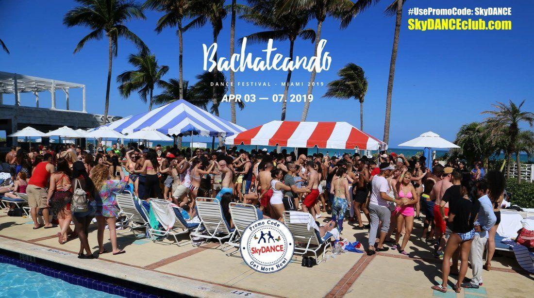 Promo Code SkyDANCE 15% Off for Bachateando Dance Festival Miami