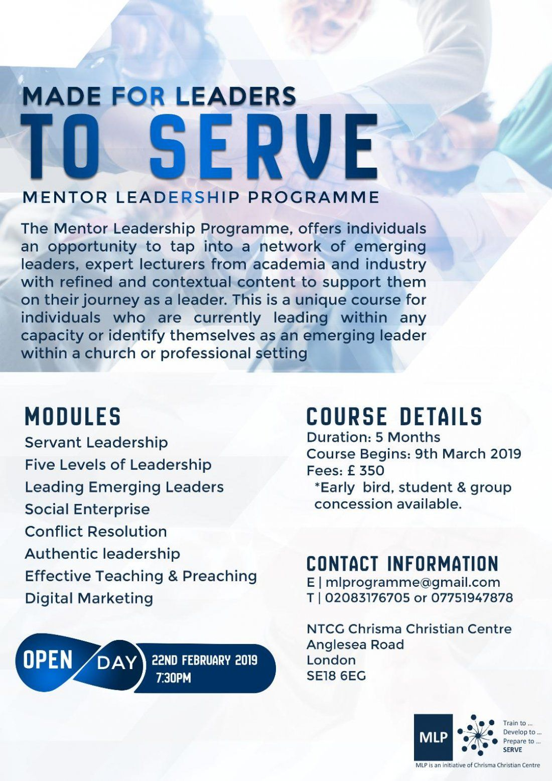 Mentor Leadership Programme