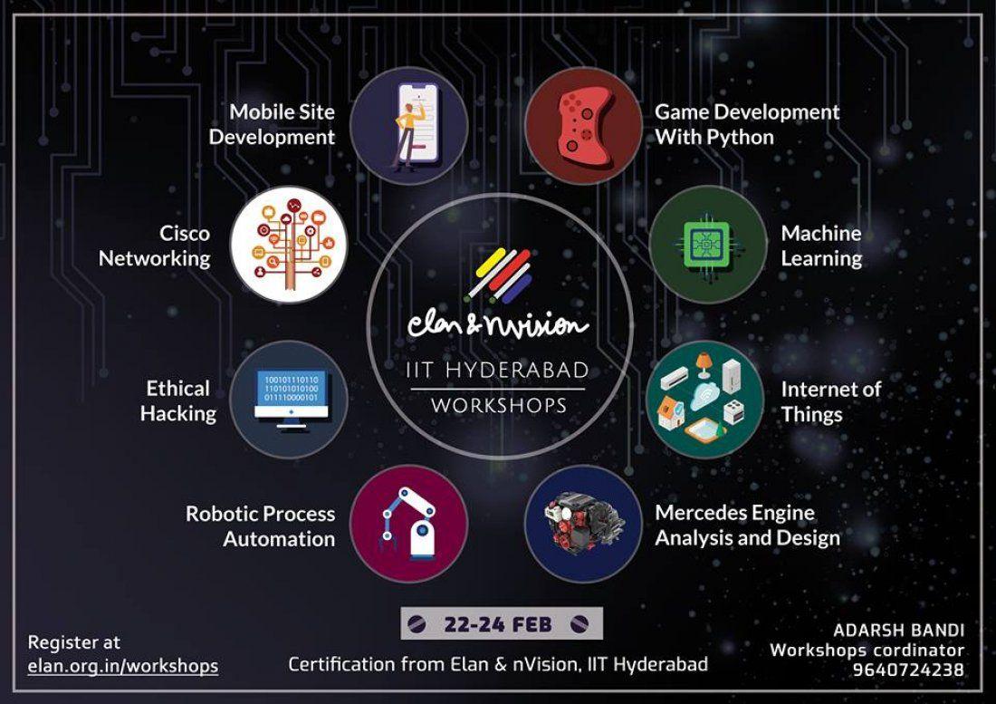 ELAN & nvision 2019 Workshops