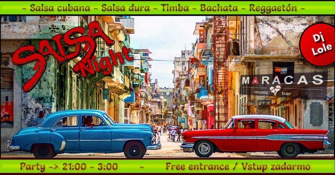 Salsa night in Maracas  Dj Lole  Every Friday
