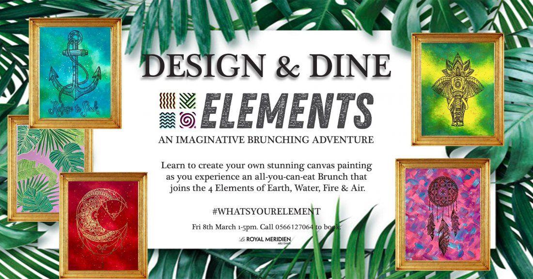 Design & Dine - Elements Brunch